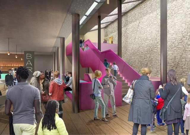 An artist's impression of what the new Citizens' Theatre will look like after its 24-month refurbishment