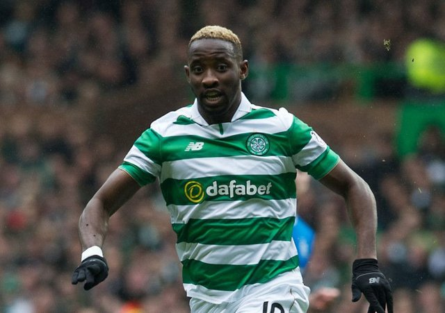 Celtic striker Moussa Dembele. Picture: John Devlin