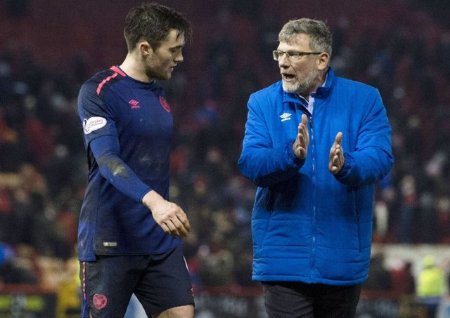 Hearts manager Craig Levein believes John Souttar will be good enough to play in the English Premier League. Picture: SNS.