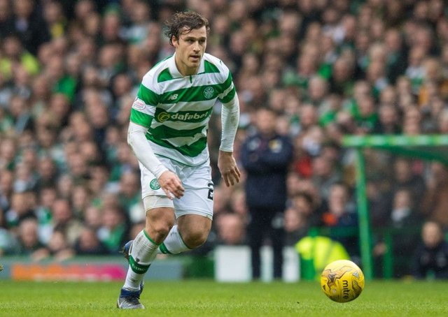 Erik Sviatchenko has been linked with a move to FC Copenhagen after two years with Celtic. Picture: SNS.