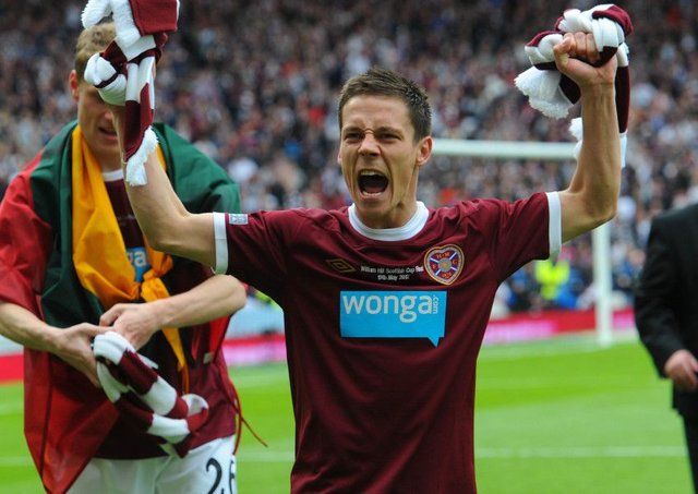 Ian Black was a key member of Hearts' 2012 Scottish Cup-winning side.