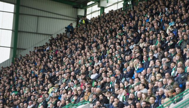 Attendances at Scottish Premiership games are the highest in Europe on a per capita basis. Picture: SNS Group