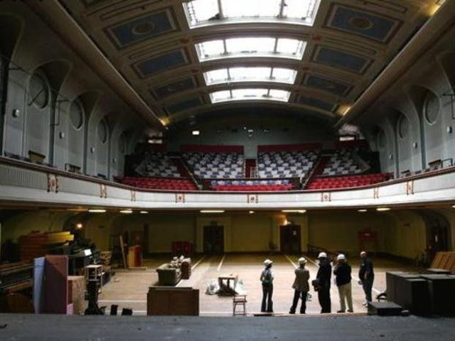 Leith Theatre was reopened last year for the Hidden Door Festival nearly 30 years after its last event.