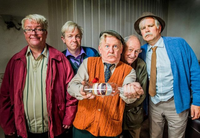 The Still Game team. Picture: BBC