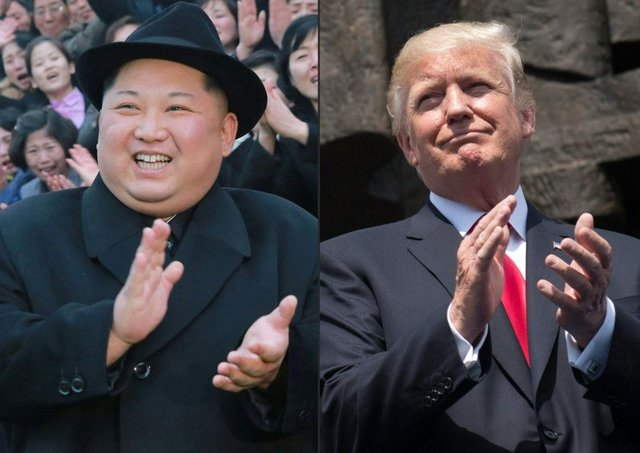 Kim Jong Un issued an invitation to Donald Trump. Picture: AFP