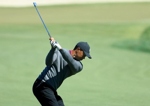 Tiger Woods in action during the pro-am before the Arnold Palmer Invitational. Picture: Sam Greenwood/Getty Images