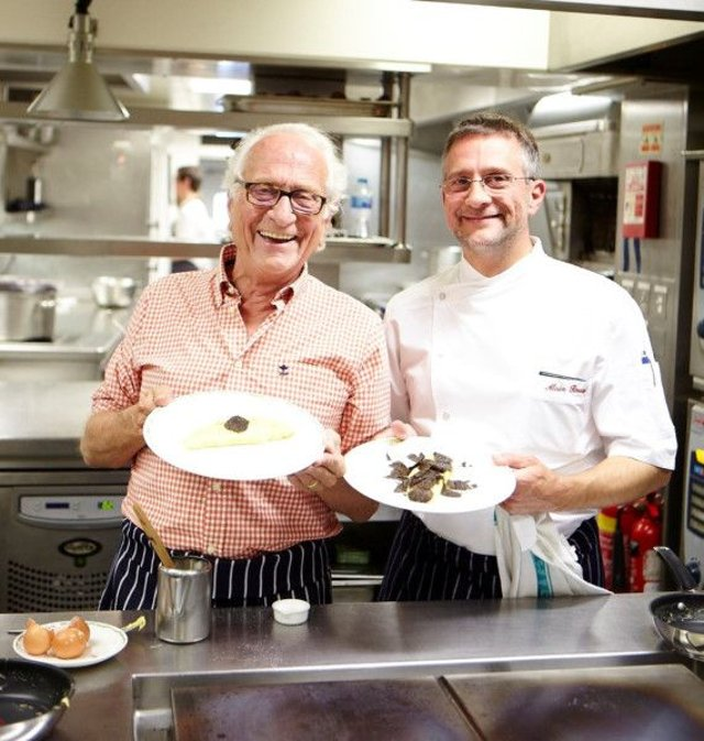 Father-and-son team Michel and Alain Roux are opening a new restaurant at the Balmoral Hotel