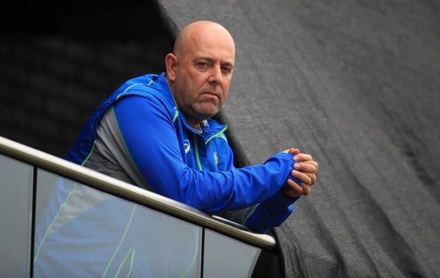 Australia head coach Darren Lehmann will step down after the fourth Test. Picture: PA