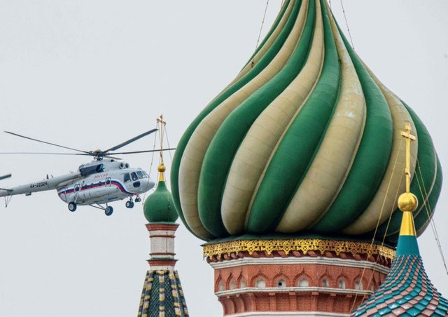 Russia has ordered Britain to reduce the number of diplomats in Moscow. Pic: AFP/Getty Images