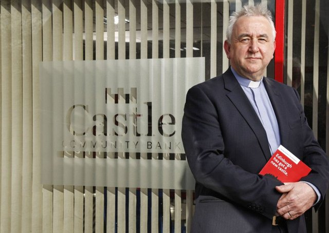 Rev Iain May is chair of Castle Community Bank