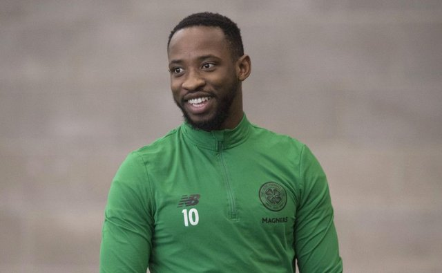 Celtic striker Moussa Dembele. Picture: Craig Foy/SNS