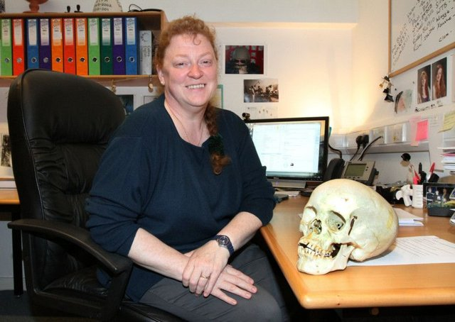 Professor Sue Black, forensic anthropologist and author