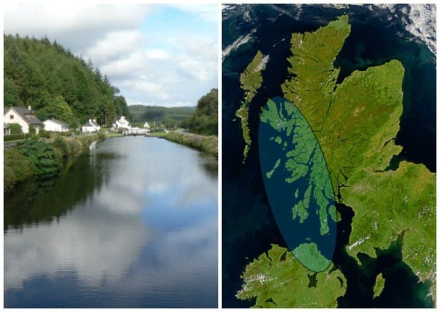 Crinan Canal played an role in the ancient Gaelic kingdom of Dalriada. Pictures: Wiki Commons