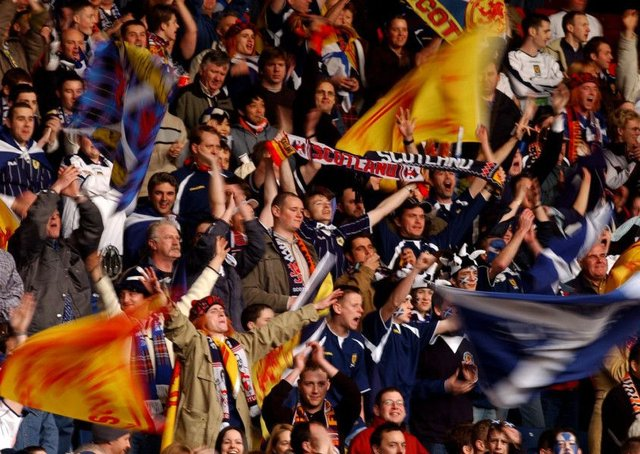 Scotland supporters who travel to the Peru match will be offered a free ticket for September's Hampden clash with Belgium. Picture: Neil Hanna