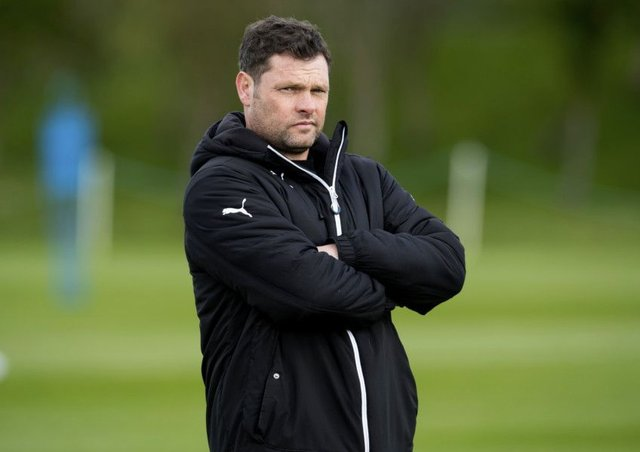 Rangers manager Graeme Murty would love to be kept on. Picture: Craig Foy/SNS