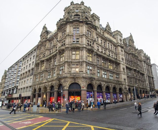 The group owns Edinburgh's famous Jenners store. Picture: Ian Rutherford