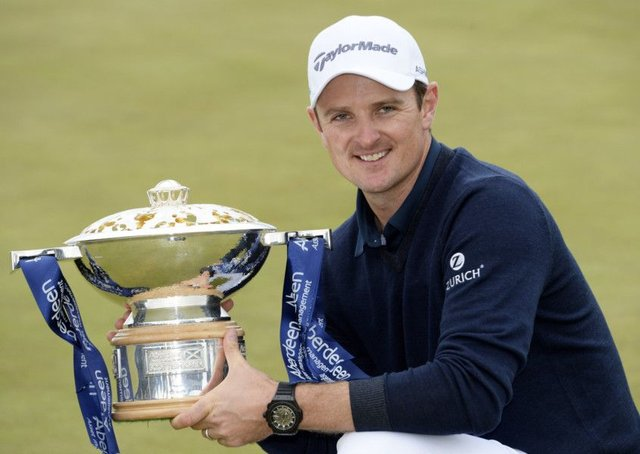 Justin Rose is returning to the Scottish Open, a tournament he won in 2014 at Royal Aberdeen. Picture: Gary Hutchison/SNS