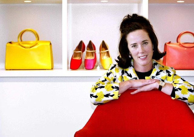 New York fashion designer Kate Spade has been found dead in her apartment. Picture: AP Photo/Bebeto Matthews