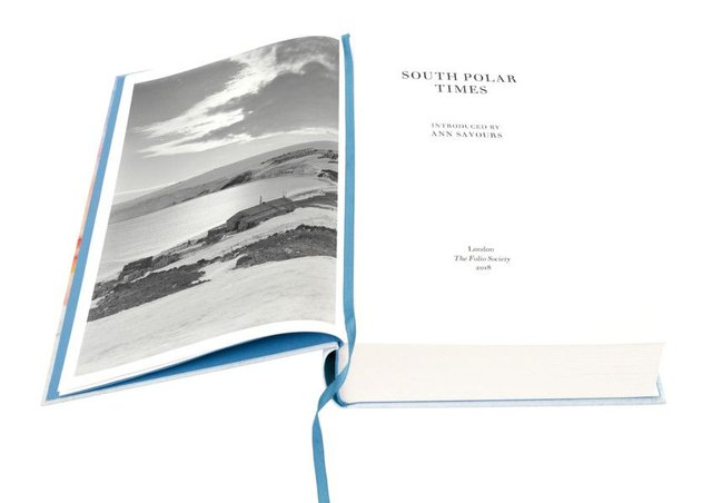 The new Folio Society edition of The South Polar Times