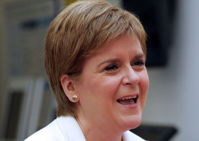 First Minister Nicola Sturgeon tweeted her thoughts on the Chequers outcome. Picture: PA