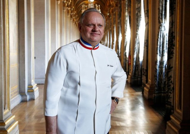 Joel Robuchon, who has died at the age of 73, reached a record total of 32 Michelin stars in 2016. Picture: AFP/Getty