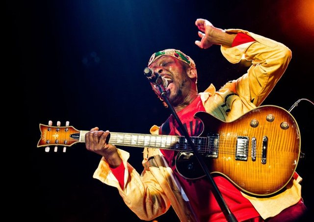 The inspirational Jimmy Cliff was in tremendous voice
