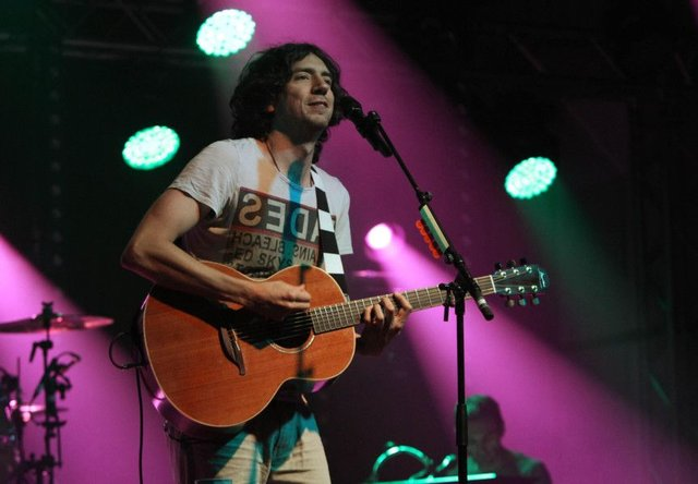 Gary Lightbody performing with Snow Patrol in 2012. Picture: Niall Carson/PA Archive