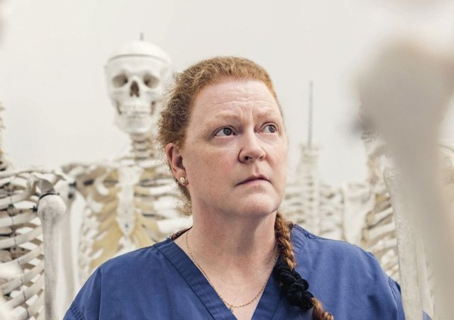 Sue Black told the audience forensic science doesnt always sway jury. Picture: Contributed