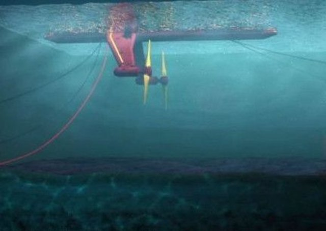 The company behind the tidal turbine praised the turbine's 'phenomenal' result.Picture: ScotRenewables
