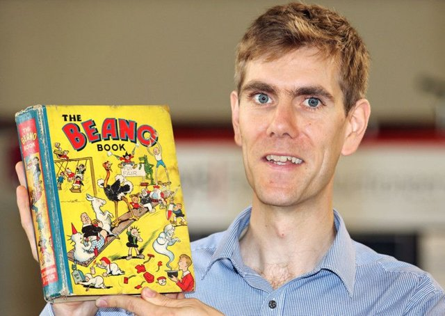 The first ever Beano Annual is expected to sell for between £1,200 and £1,500. Picture: PA Wire