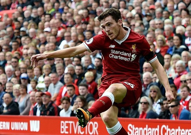 Andrew Robertsons form for Liverpool in recent months has been so impressive that he has established himself as a  first-team regular at Anfield, hes played in the final of the Champions League and hes been awarded the Scotland captaincy.