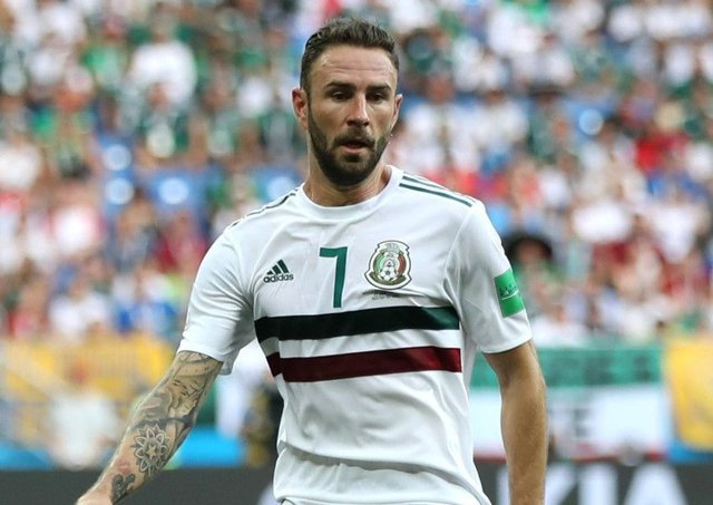 Villarreal winger Miguel Layun impressed for Mexico during the World Cup in Russia. Picture: Elsa/Getty Images