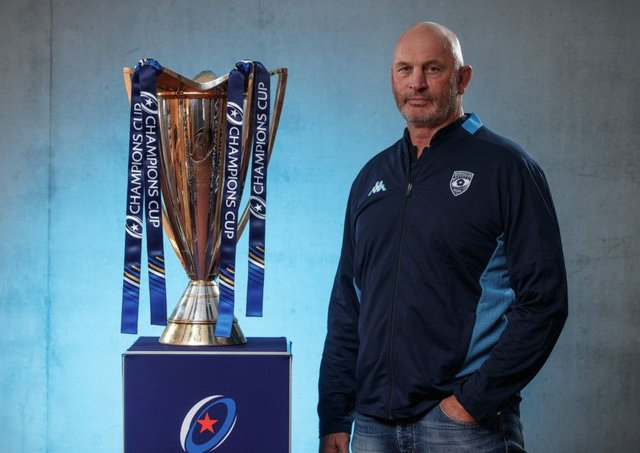 Montpellier head coach Vern Cotter