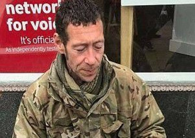 Ex-soldier Darren Greenfield, who lived on Edinburghs streets for years, died at the age of 47 days before Christmas