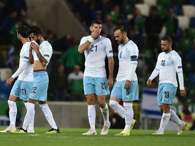 Israel lost 3-0 to Northern Ireland on their last outing.