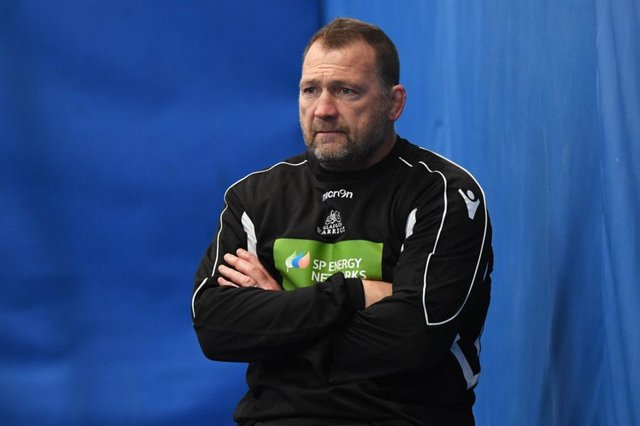 Glasgow Warriors assistant coach, Jonathan Humphrey is relaxed about Scotstoun's international contingent. Picture: SNS Group