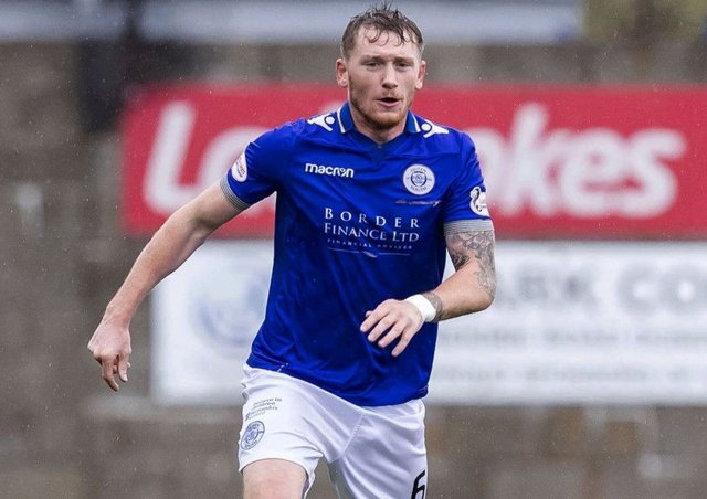 Queen of the South's Michael Doyle was on target against Falkirk. Picture: SNS