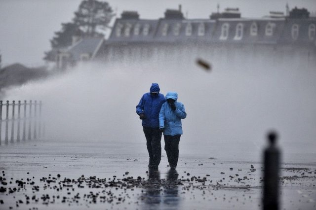 Wet and windy weather is expected across much of the country. Picture: TSPL