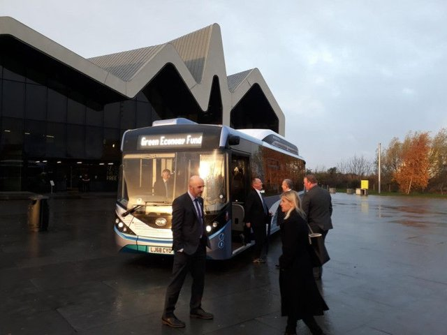 Two new electric buses will be trialled by First Glasgow next summer. Picture: The Scotsman