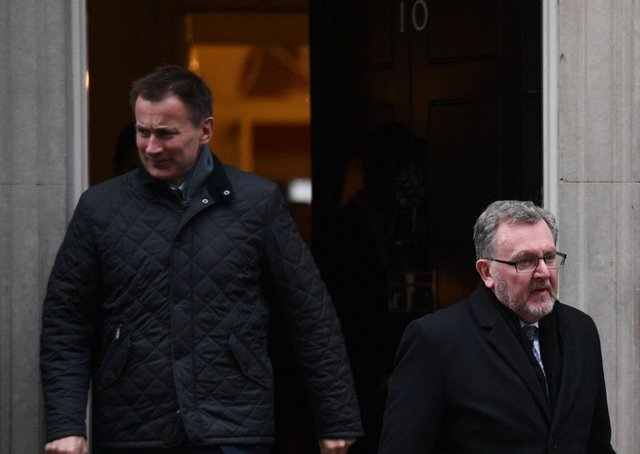 Scottish Secretary David Mundellÿ has been thrashing about like a drowning man (Picture: Stefan Rousseau/PA Wire)