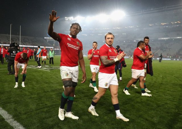 The Lions drew the Test series with New Zealand in 2017.  Picture: David Rogers/Getty Images