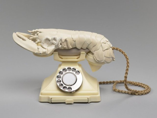 Salvador Dali's 'Lobster Telephone' sculpture has been unveiled in National Galleries in Edinburgh. Picture: National Galleries