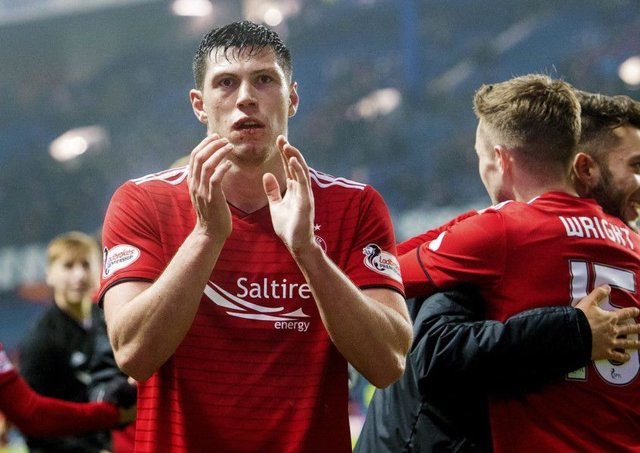 Scott McKenna admits the Aberdeen defence has been a bit slack in recent matches. Picture: Bill Murray/SNS