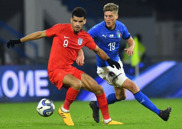 Rangers face Premier League competition for Dominic Solanke. Picture: Alessandro Sabattini/Getty