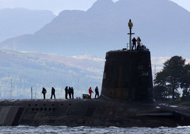 Nuclear submarines are based in Faslane.  (Photo by Jeff J Mitchell/Getty Images)
