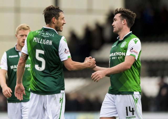 Hibs won on their last trip to St Mirren earlier in the season. Picture: SNS