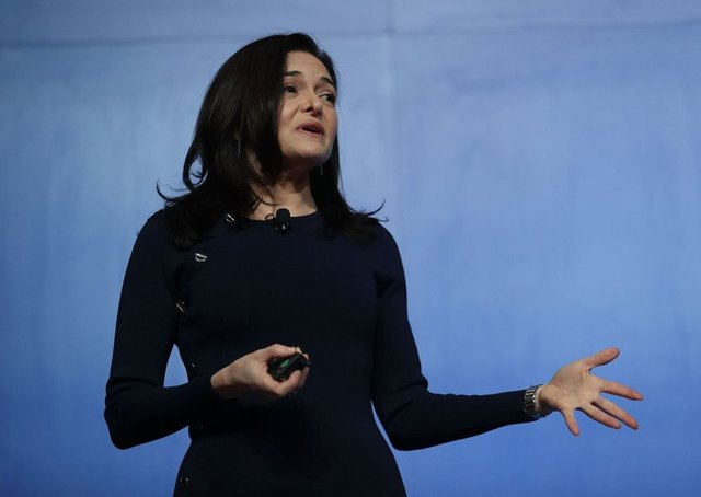Facebook Chief Operating Officer Sheryl Sandberg. (Photo by Joe Raedle/Getty Images)