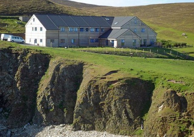 Fair Isle bird observatory. Picture: Julian Paren/Geograph.org.uk