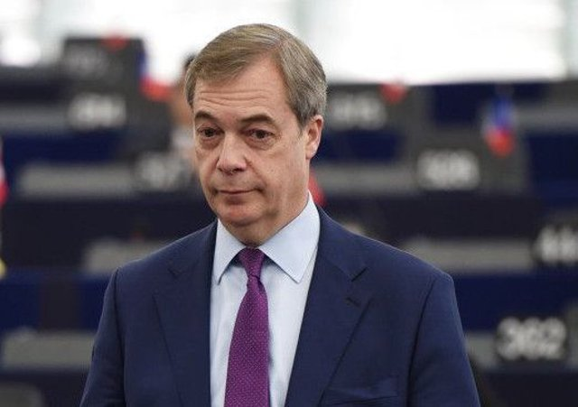 Mr Farages Brexit Party has set up a website at www.thebrexitparty.org, where internet users can find information about the new group and sign up to support or make donations. Picture: AFP/Getty