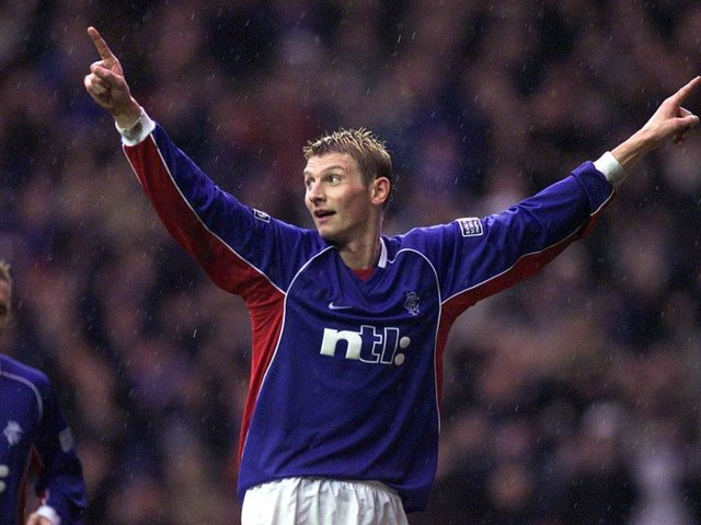 Tore Andre Flo was an expensive signing for Rangers at the start of the 2000s. Picture: SNS